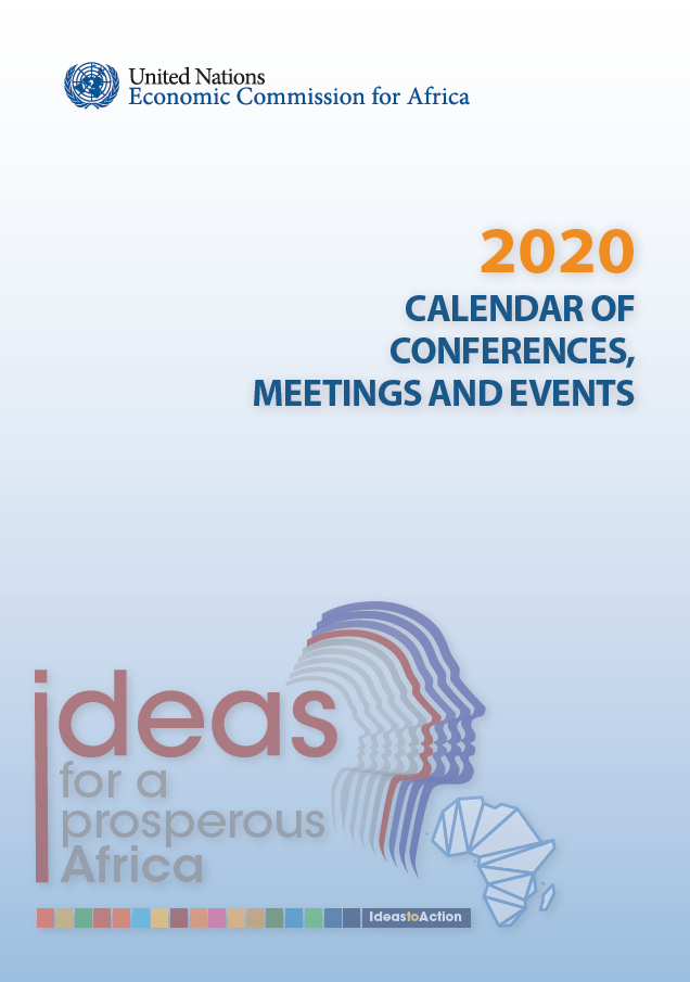 2020 CALENDAR OF CONFERENCES, MEETINGS AND EVENTS