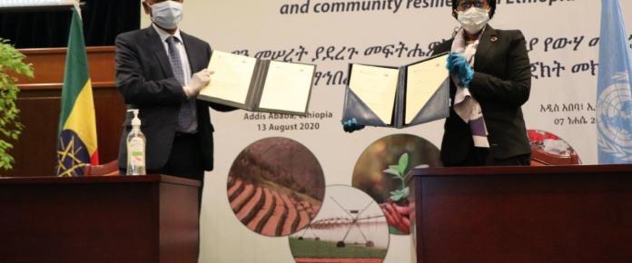 La CEA et le Gouvernement éthiopien lancent la Décennie d'action en se focalisant sur la plantation d'arbres, les emplois verts, les moyens de subsistance et la santé