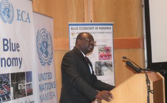 Blue economy can be a site of economic production - ECA