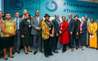 COP 25: 'Africa's future depends on solidarity' Leaders and development partners rally around climate change goals