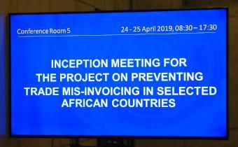 La CEA organise une réunion sur le renforcement des capacités de l'Afrique à lutter contre la mauvaise facturation commerciale