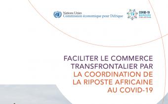 COVID-19 : Un nouveau rapport de la CEA appelle les gouvernements à harmoniser les politiques commerciales et transfrontalières
