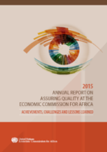 Annual Report on Assuring Quality at the Economic Commission for Africa 2015