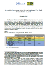 An empirical assessment of the African Continental Free Trade Area modalities on goods