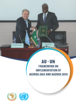 AU – UN Framework on Implementation of Agenda 2063 and Agenda 2030