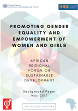 Promoting gender equality and the empowerment of women and girls