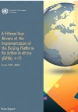 A Fifteen-Year Review of the Implementation of the Beijing Platform for Action in Africa (BPfA) +15