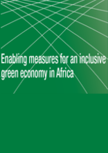 Enabling measures for an inclusive green economy in Africa