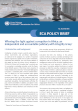 ECA Policy Brief - Winning the fight against corruption in Africa: an independent and accountable judiciary with integrity is key