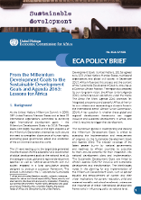 From the Millennium Development Goals to the Sustainable Development Goals and Agenda 2063: Lessons for Africa
