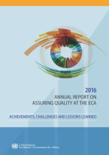 2016 Annual Report on Assuring Quality at ECA