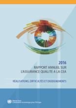 2016 Rapport annuel sur l'assurance qualité à la CEA
