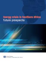 Energy crisis in Southern Africa - Future prospects