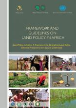 Framework and Guidelines on Landpolicy in Africa