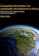 Geospatial information for sustainable development in Africa