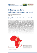 Informal traders: A balancing act of survival