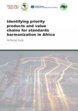 Identifying priority products and value chains for standards harmonization in Africa