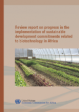 Review report on progress in the implementation of sustainable development commitments related to biotechnology in Africa