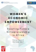 Women's economic empowerment: boosting women's entrepreneurship in Africa