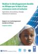 Réaliser le développement durable en Afrique par le biais d'une croissance verte et inclusive