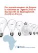Des moyens nouveaux de financer la réalisation de l'Agenda 2063 et des objectifs de développement durable en Afriquedurable Afrique